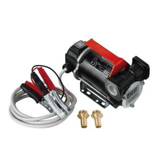 Carry E 3000 , 1500/2900 min-1, 12/24 V; Dieselpumpe mit Tragegriff, Schalter und Kabel