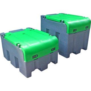 Mobiltank FORTIS 400 l für Diesel, m.abschl.Deckel; Pumpe E3000 12V, autom. Zapfpistole, ohne Zählwerk