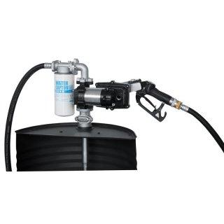 Fasspumpe Diesel/Benzin/Kerosin EX50 AC 230V ATEX; mit automat. Zapfpistole, ohne Zählwerk