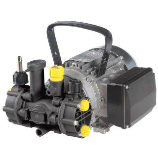 MC 18 Membranpumpe , 230 V; mit Elektromotor, Kabel und Stecker