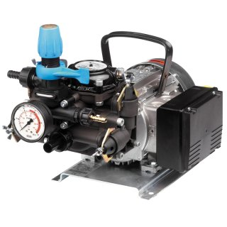 MC 25 Membranpumpe , 230 V; mit Elektromotor, Kabel und Stecker