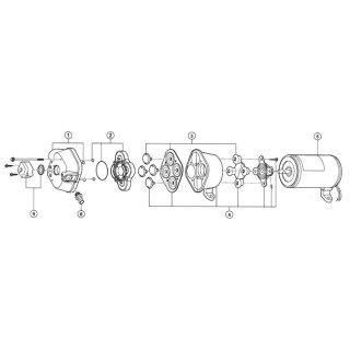 Ventilsatz  EPDM für  QuAD Pumpen