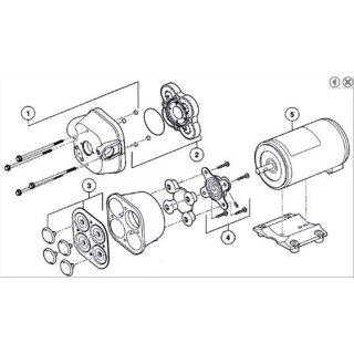 Membransatz  EPDM für  QuAD Pumpen