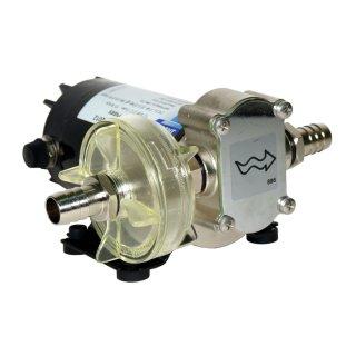 Gear Puppy 12 Volt 24,5 Liter/ Minute Selbtansaugend Zahnradpumpe für Öl, Diesel, Wasser