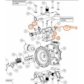 Luftventil  Air Valve Kit E5 / E7