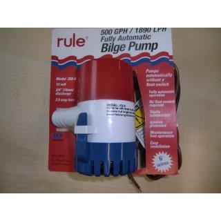 Rule 25S-6 - vollautomatische, elektronische Bilgepumpe.