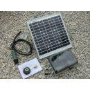 Solar Druckpumpe mit Akku und Zeitschaltuhr