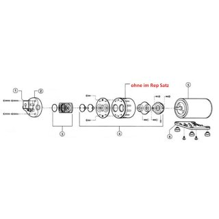 Membransatz für Flojet Duplex D-Serie EPDM
