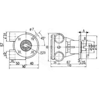 Kühlwasserpumpe VTE-F5B-9-10-35100-1