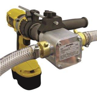 UNISTAR/K 2001-A; Impellerpumpe m. Adapter f. Bohrmaschine